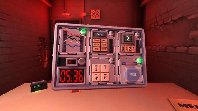 Keep Talking and Nobody Explodes – PSVR Review