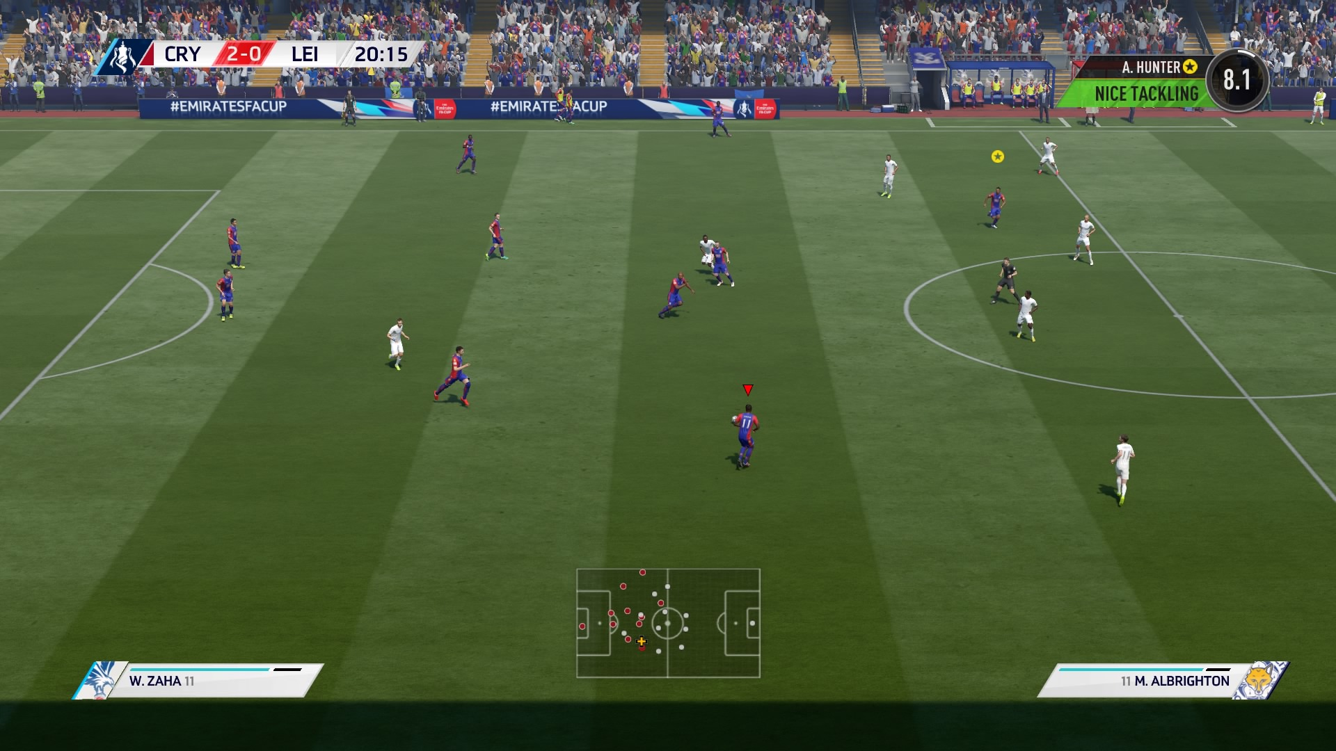 fifa 17 ps4 review playstation country. Black Bedroom Furniture Sets. Home Design Ideas