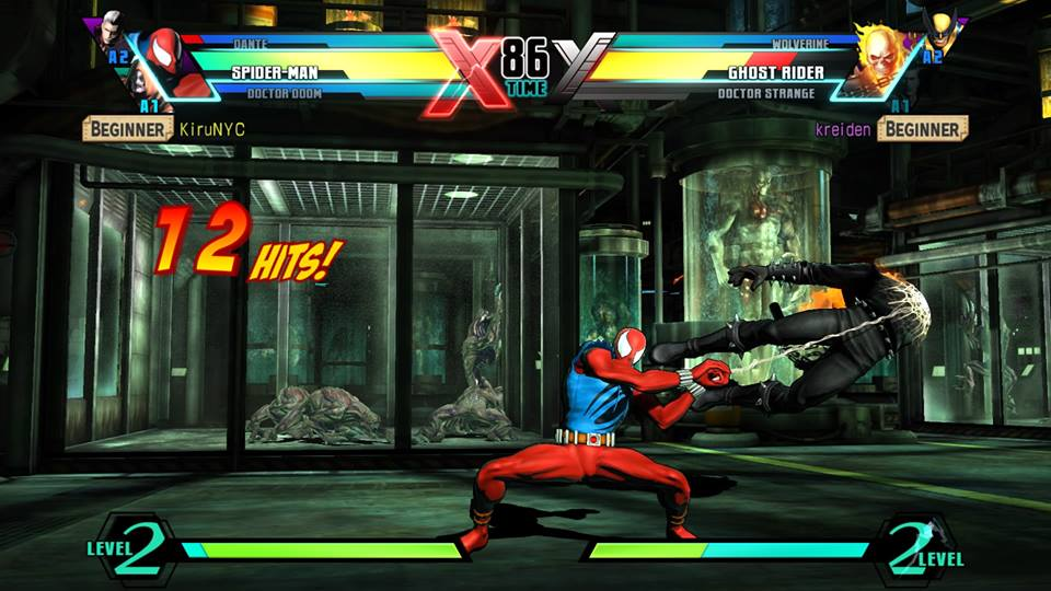 Ultimate Marvel vs  Capcom 3 - PS4 Review - PlayStation Country