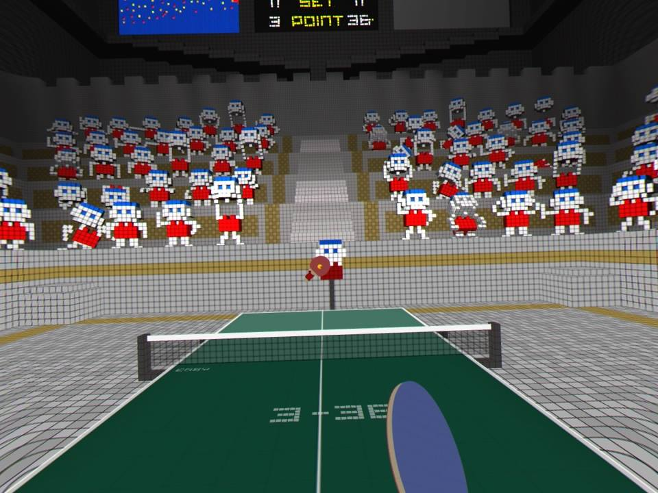 Vr ping pong psvr review playstation country - How much space for a ping pong table ...