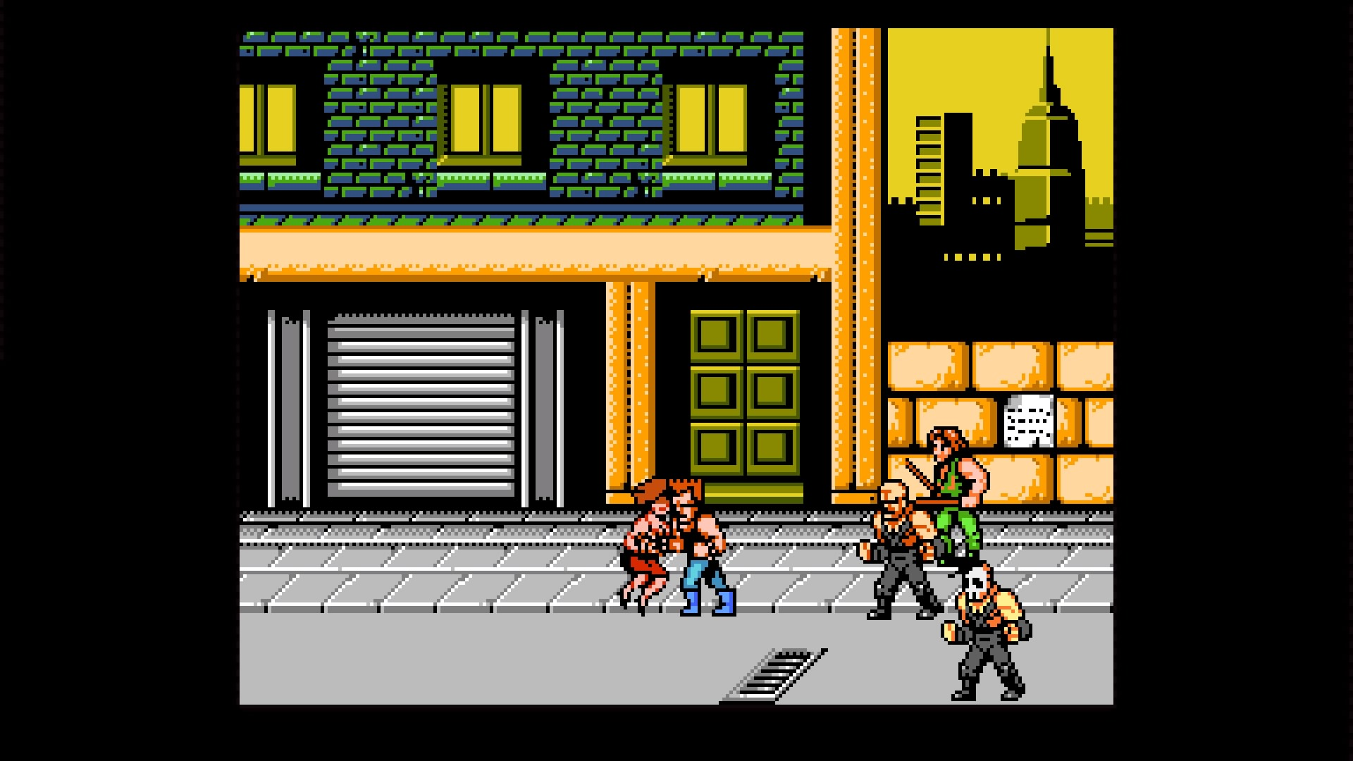 Double Dragon Iv Ps4 Review Playstation Country