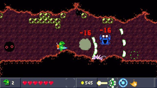 Kero Blaster – PS4 Review