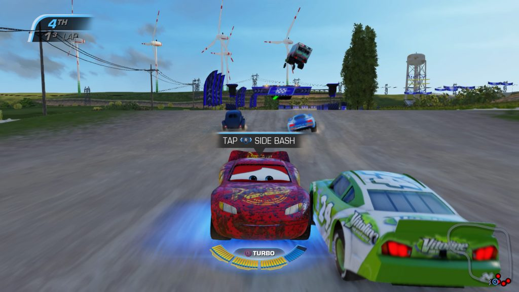 Cars  Driven To Win Controls