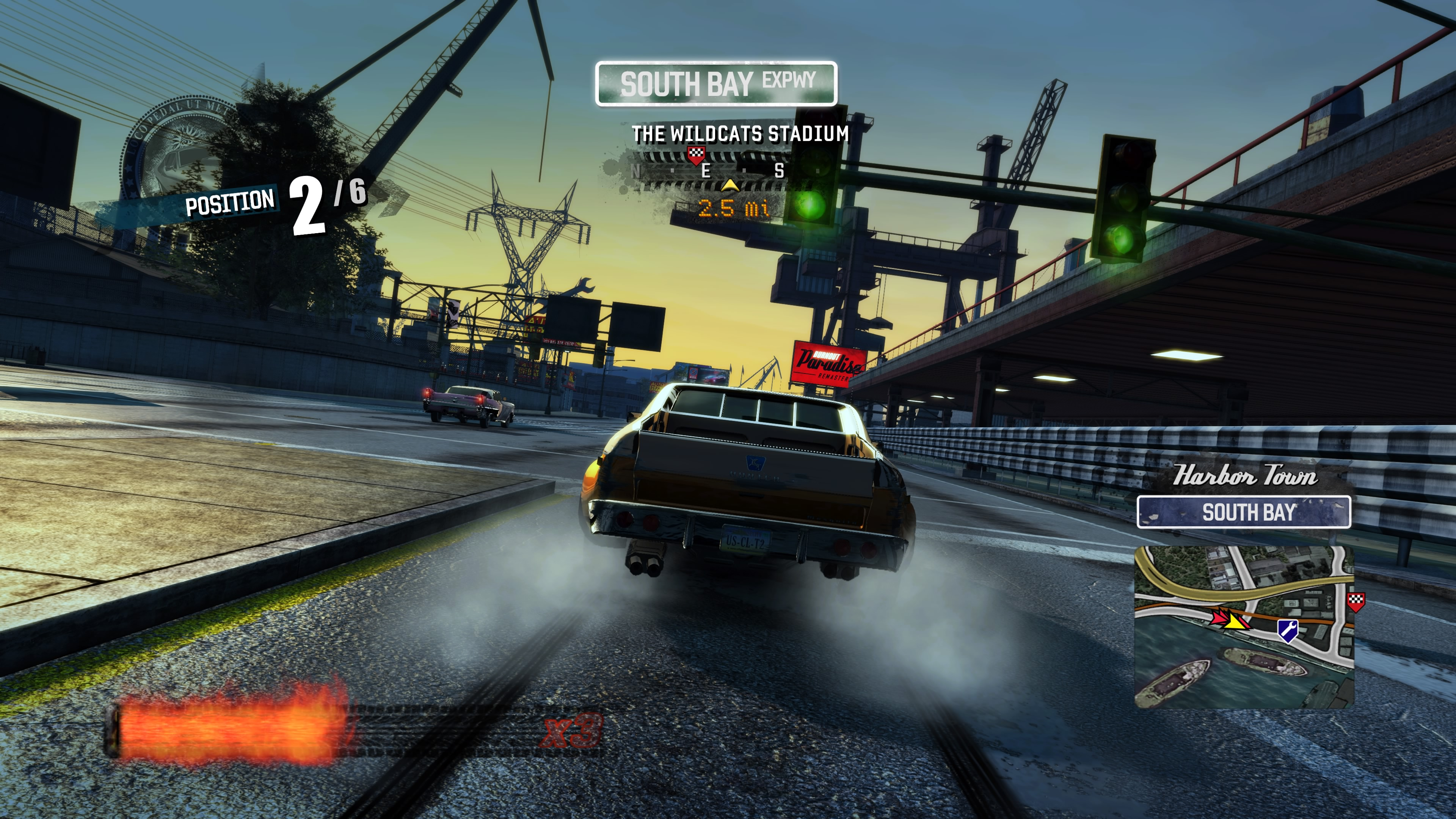 burnout paradise remastered ps4 review playstation country. Black Bedroom Furniture Sets. Home Design Ideas