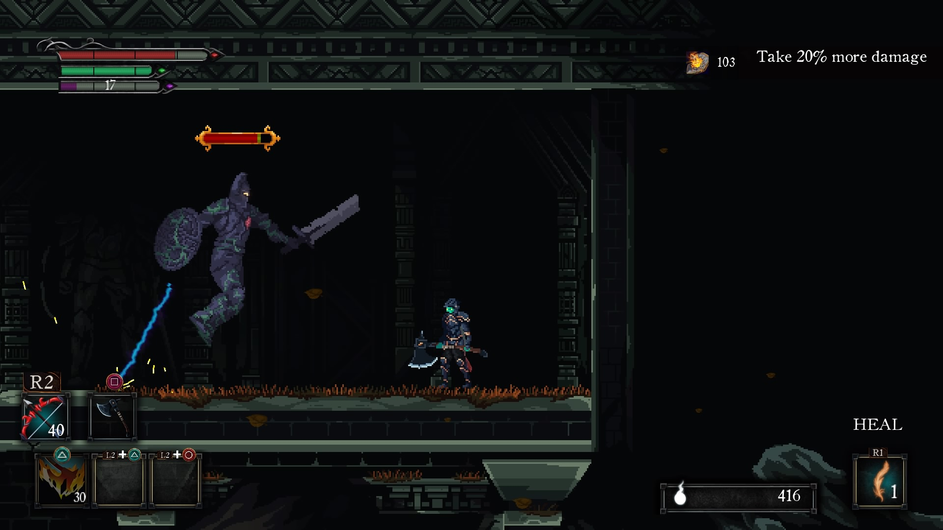 Death's Gambit - PS4 Review - PlayStation Country