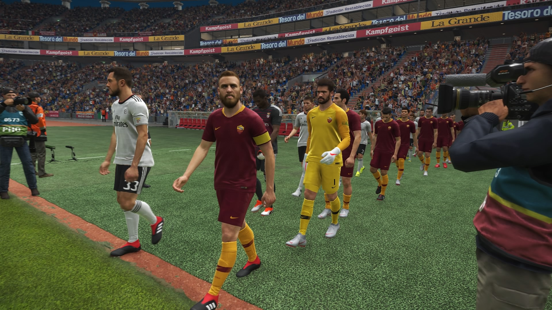 Pes 2019 No Crowd