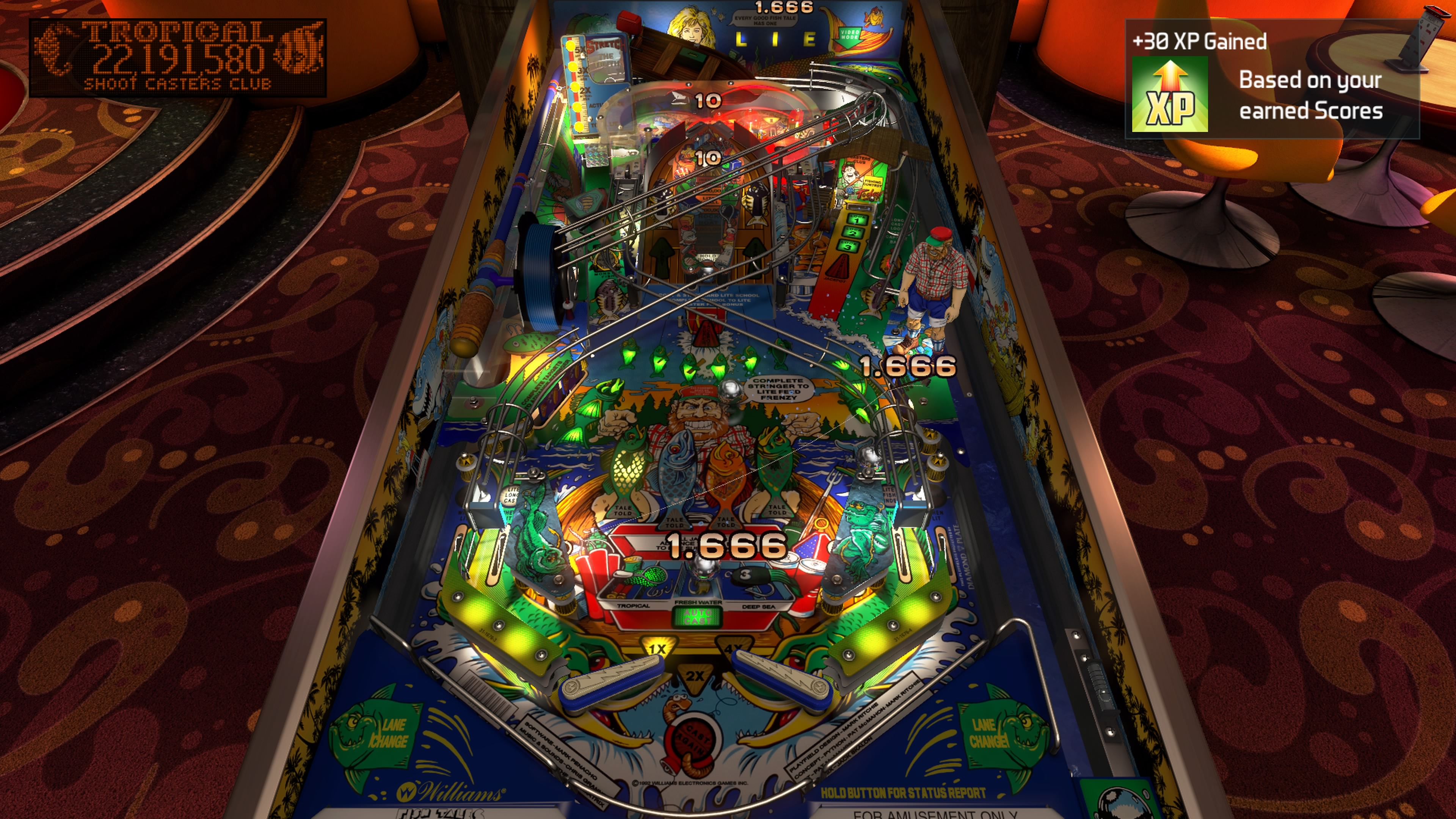 Pinball FX3: Williams Pinball (Volume One) - PS4 Review