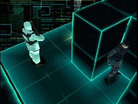 Metal Gear Solid's virtual training missions are probably going to irritate most players but at the time they were very fancy.