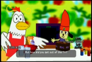 Angry chicken and TV chef. Cheap, with her Wu-quality flows.